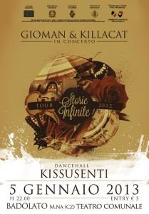 Gioman & Killacat Storie Infinite Tour