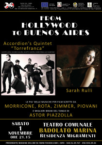 accordion's quintet - sarah rulli - badolato
